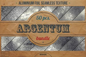 Aluminum Foil HD Textures XL Bundle