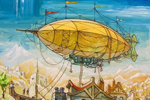 Oil: Dirigible