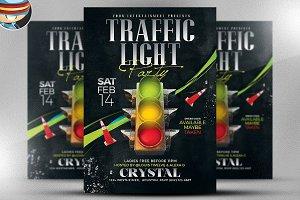 Valentine's Day Traffic Light Flyer