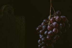 Rustic fruits still life
