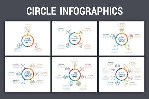 Circle Infographics