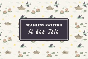 A Sea Tale - Seamless Pattern