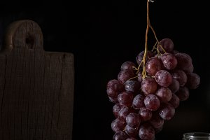 Rustic fruits still life