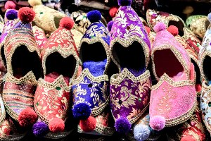Colorful Traditional Shoes