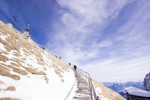 Stairway to Mountain Summit