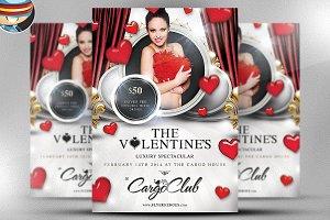 Valentine's Luxury Spectacular Flyer