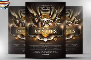 Passion in Yo Panties Valentines PSD