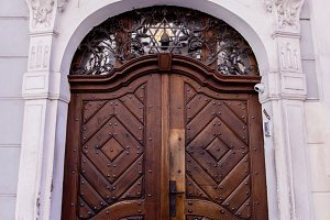 Huge Wooden Door