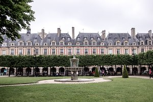 Charming French Park