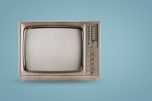 old vintage tv header hero