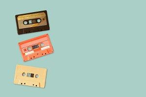 Tape cassette recorder