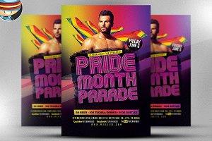 Pride Parade Flyer Template V2