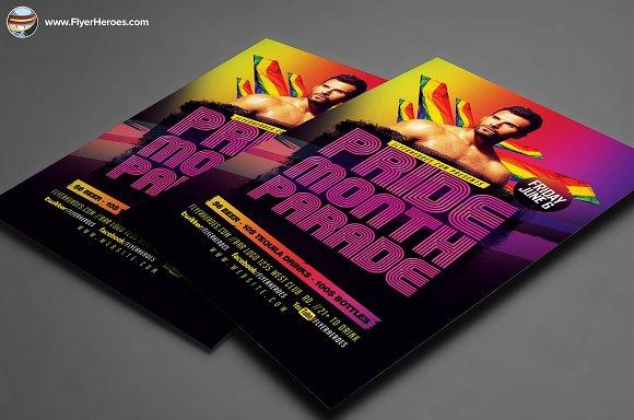 pride parade flyer template v2 flyer templates creative daddy