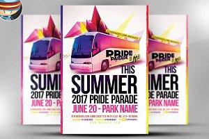 Pride Parade Flyer Template V3