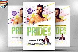 Pride Month Special DJ Flyer