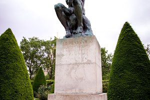 Rodin's Thinker Sculpture