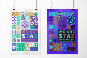 Geometric Fun 4 ~ 24 patterns