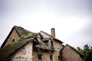 Farmhouse roof in France