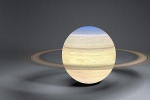 Saturn 4k Globe