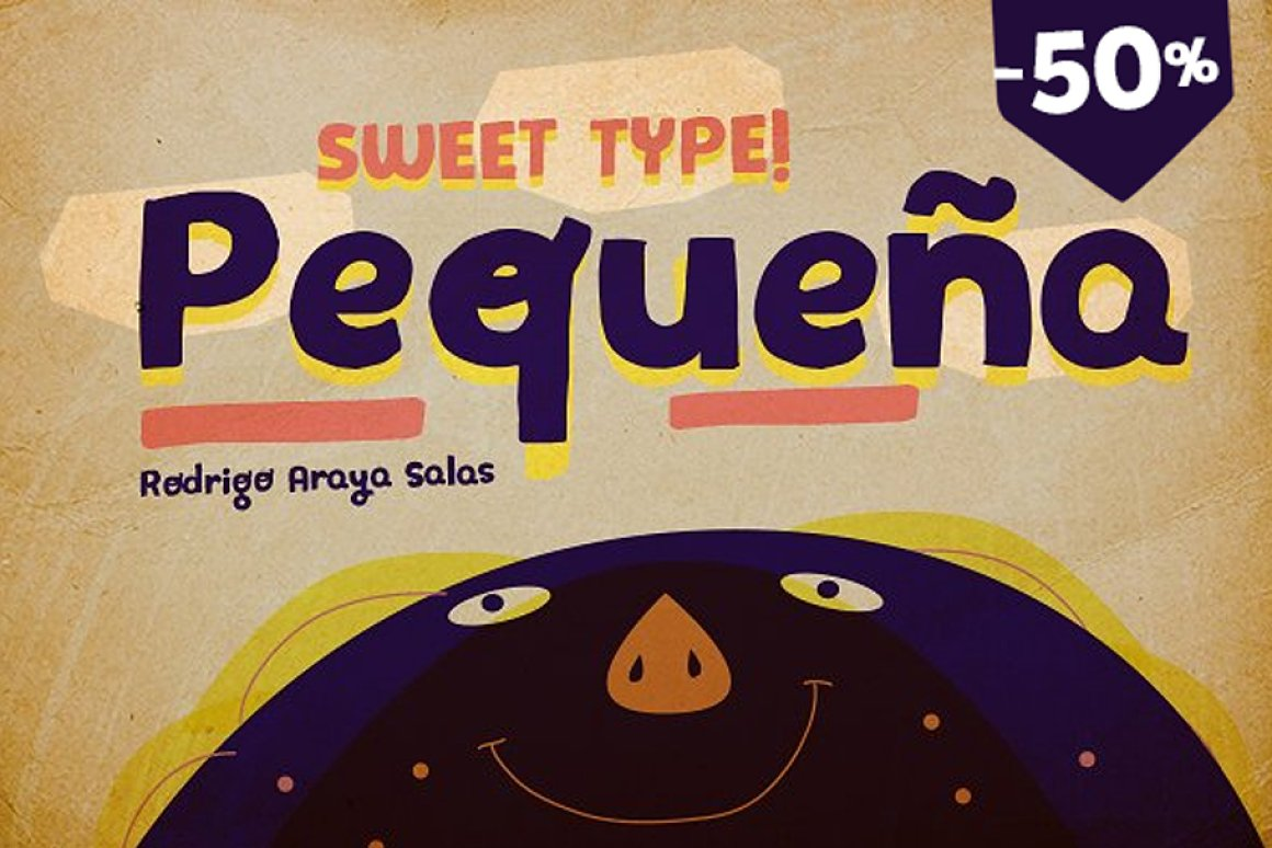 35 Playful Fonts for Children's Books & Design Projects