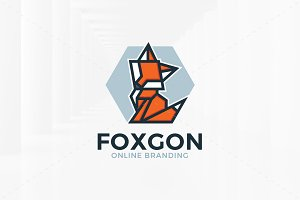 Fox Gon Logo Template