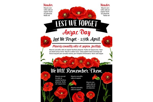 Anzac Day Lest We Forget 25 April v…