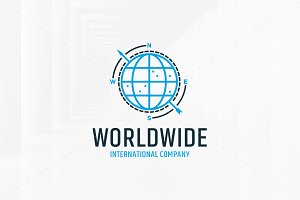 World Wide Logo Template