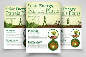 Solar Energy Flyer Templates