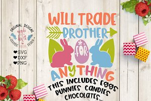 Will Trade Brother (SVG, DXF, PNG)