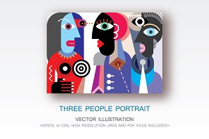 Three People Portrait