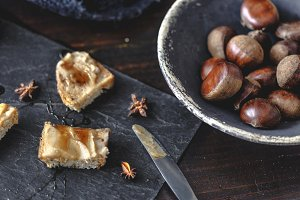 Sweet Chestnut Cream toasts