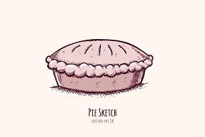Pie Sketch