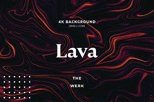 Lava - 4K Background