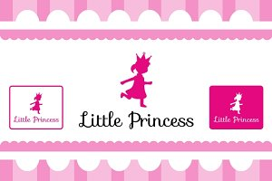 Little Princess Logo Template