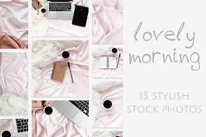 Lovely Morning: photo bundle