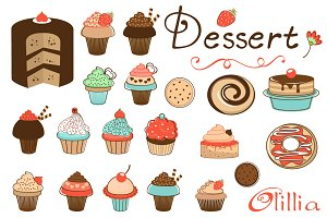 Desserts collection