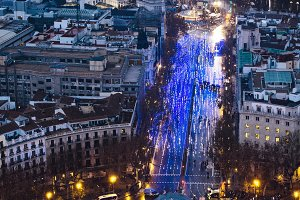 PUERTA DE ALCALA,MADRID,SPAIN-