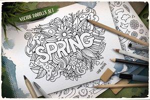 ✿ Spring Doodles Pack ✿