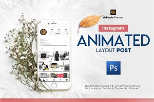 ANIMATED Layout Post Instagram