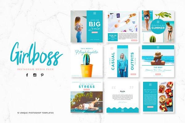 Girlboss Social Media Pack