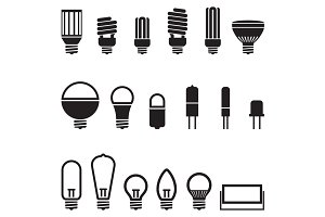 Light Bulb Lamp Variation Icon