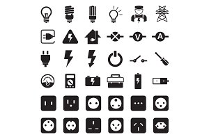 Power Socket - Electricity Tool Icon