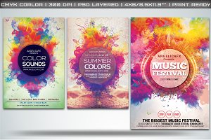 Colorful Flyers Bundle Vol. 1