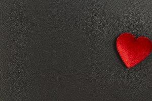 Valentine's Day card. declaration of