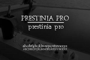 Font | Prestinia PRO