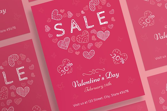 posters valentines day flyers valentine posters