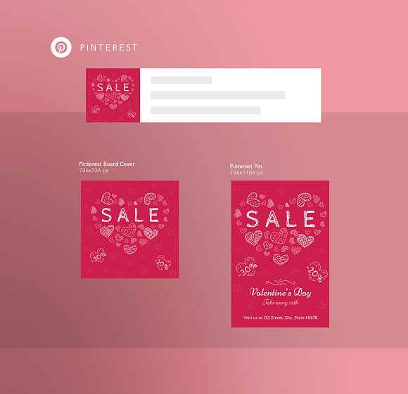 Promo Bundle | Valentine's Day in Templates - product preview 2