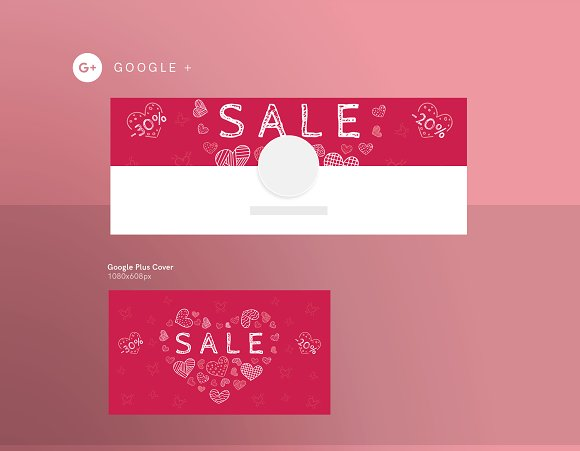 Promo Bundle | Valentine's Day in Templates - product preview 4