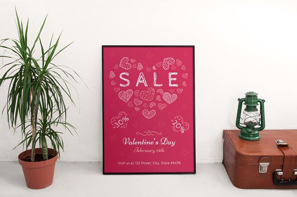 Promo Bundle | Valentine's Day in Templates - product preview 13