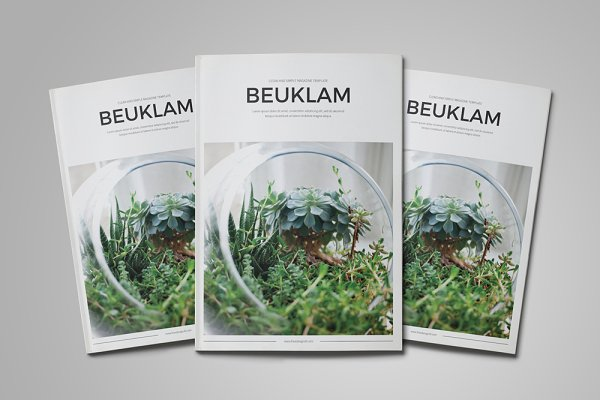 Magazine Templates: MA-KING_ART - Beuklam Magazine